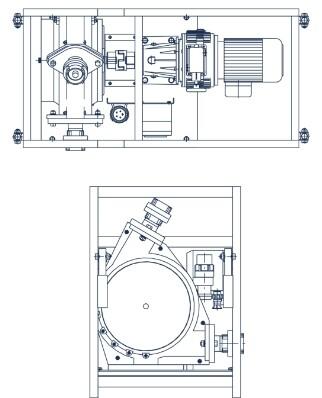 Schlauchpumpe LZ40 Skizze
